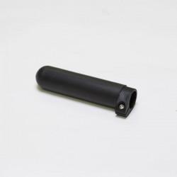 Skull- & Skinny Riemen Griff, Schwarz 35mm, verstellbar