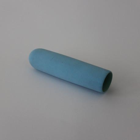 Griffüberzug, Schaumstoff blau, Außenhand Riemen