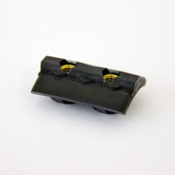 Gewindeplatte 2-Loch für 10cm Verstellung, Riemen