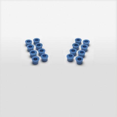 Sweep Oarlock Bushings, 13 mm, Blue