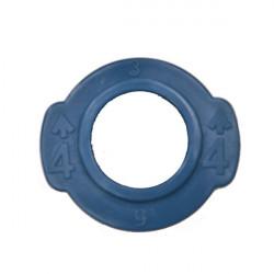 Scull Oarlock Universal Bushing, 13mm, Blue